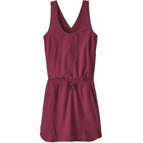 Patagonia Fleetwith jurk Dames rood